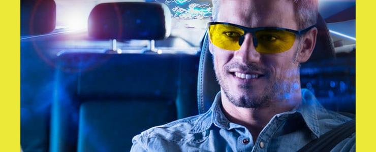 Жовті окуляри допомагають під час нічної їзди: міф чи реальність?
