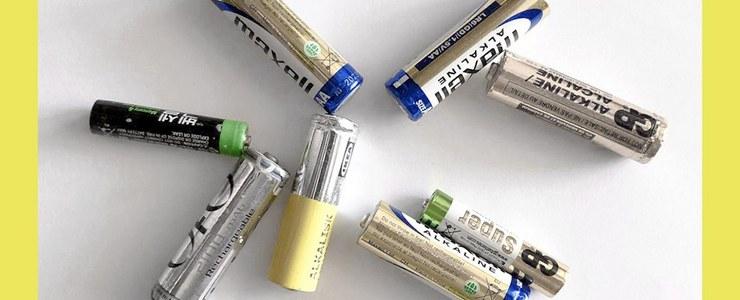 Переробляємо батарейки разом!